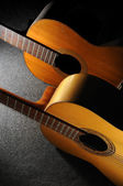 Acoustic guitars — Stock Photo