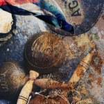 Постер, плакат: Cuban instrument maraca
