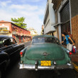 Vintage classic american cars. HAVANA - 9 JULY, 2010. — Stock Photo