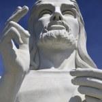 Jesus Christ statue in Havana against blue sky — Stock Photo #48488273
