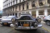 Vintage classic american car. HAVANA - 9 JULY, 2010.  — Stock Photo