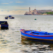 Fishing Boats in Havana bay — Stock Photo #48495173