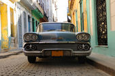 Havana vintage car — Foto Stock