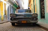Havana vintage car — Foto de Stock
