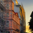Havana street facades at sunset  — Stock Photo #48500677