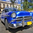Classic american car in the street of havana — Stock Photo #48507391
