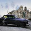 Car and Revolution palace in havana, cuba — Stock Photo #48507745