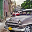 Havana scene with Old car — Stock Photo #48507923