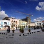 """Old havana """"Plaza Vieja"""", cuba. March 2009. — Stock Photo"""