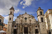 Old havana Cathedral — Stock Photo