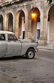 Old car in Havana street  — Stock Photo