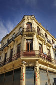 Old Havana building facade — Stock Photo