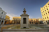 Plaza Vieja Square In Old Havana — Stock Photo
