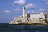 El morro lighthouse in Havana — Stock Photo