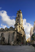 Monastery of Saint Francis of Assisi, Old Havana, cuba. NOV 2008 — Foto Stock