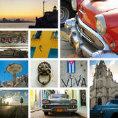 Cuba collage — Stock Photo