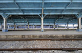 Havana train station — Stock Photo