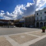 "Old Havana ""Plaza vieja"", cuba. october 2008 — Stock Photo"