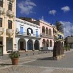 """""""Plaza vieja"""" in old havana, cuba. october 2009 — Stock Photo"""