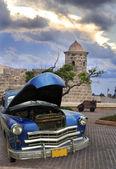 Old car in havana  — Stock Photo