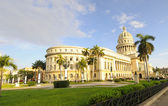 HAVANA - 9 JULY, 2010. National Capitol building — Foto Stock