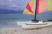 Beach recreation — Stock Photo