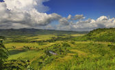 Cuban countryside landscape - escambray sierra — Stock Photo