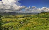 Cuban countryside landscape - escambray sierra — Stock Photo