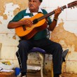 Traditional musician in Trinidad street, cuba. OCT 2008 — Stock fotografie #48676853