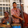 Street traditional musicians in Trinidad, cuba. OCT 2008 — Stock fotografie #48677069