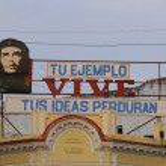Постер, плакат: Che Guevara communist propaganda Cienfuegos cuba OCT 2008