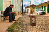 Trinidad street, Cuba. OCT 2008 — Photo