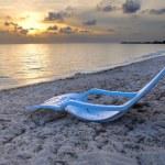 Tropical cuban beach — Stock Photo #48689239
