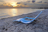 Tropical cuban beach — Stock Photo