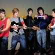 Teen group of musicians — Stock Photo #49181511