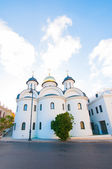 Russian orthodox church in Old Havana — Stock Photo