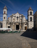 Catedral de San Cristobal de La Habana, Cuba — Stock Photo
