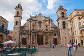 Catedral de San Cristobal de La Habana — Stock Photo