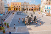 Plaza Vieja in Old Havana, Cuba — Stock Photo