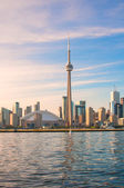 CN Tower and Toronto city view — Stock Photo