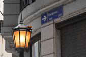 Defensa Street — Stock Photo
