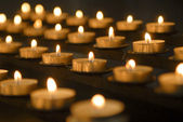 Votive Candles — Stock fotografie