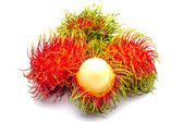 An isolated rambutan — Stock Photo