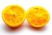An isolated orange — Stock Photo
