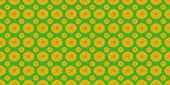 Yellow flowers on green  — Stock Photo