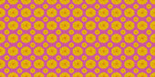 Yellow flowers on pink — Stock Photo