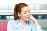 Daydreaming businesswoman  — Stock Photo