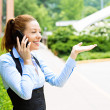 Business woman on phone — Stock Photo #48065971