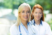 Doctors, nurses — Stockfoto