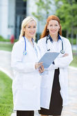 Healh care professionals, doctors, nurses — Stock Photo